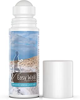 Easy Walk Roll On Jock Itch Treatment – All Natural Dead Sea Minerals Anti Fungal Formula, Instantly Relieves and Soothes ...