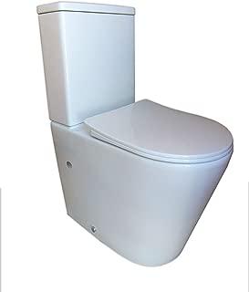 Pack WC de Inodoro compacto adosado a la pared con salida