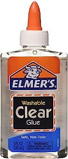 批量购买:Elmer's 胶水,透明,校?#28023;? 盎司 E305 透明 每包6条 E305