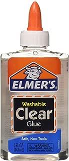 Elmer's 4336846284 889673068018 Bulk Buy (6-Pack) Clear School Glue 5 Ounces E305