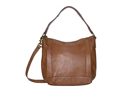Lucky Brand Kell Hobo (Brandy) Handbags