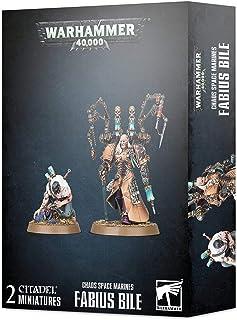 Warhammer 40k - Space Marine du Chaos Fabius Bile
