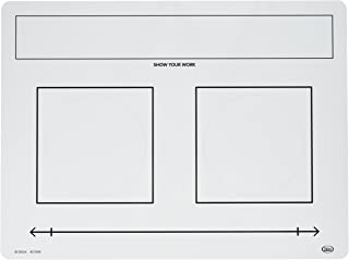 Didax Educational Resources Write-On/Wipe-Off Fraction Mats