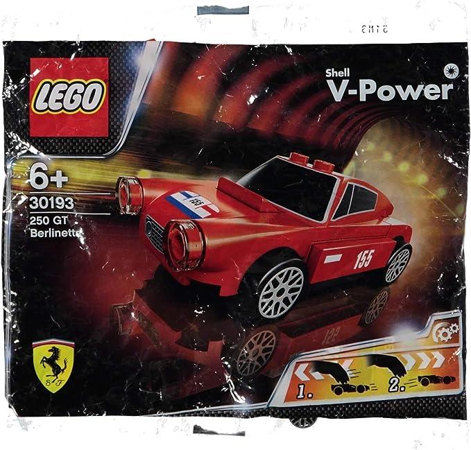 6x LEGO FERRARI SHELL V-Power alle Modelle 30190 30191 30192 30193 30194 30195