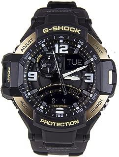 Casio GA1100-9G G-Shock Men's Sports Watch (Black/Gold)