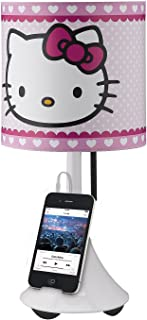Hello Kitty Table Lamp with Built in Speaker