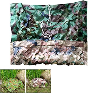 Image of KDDEON Double Fabric Three-Tier Structure Jungle Desert Camo Netting,Camping Military Shooting Hunting Cover Decoration Camouflage Netting,Garden Tree Stands Fence Shade Net