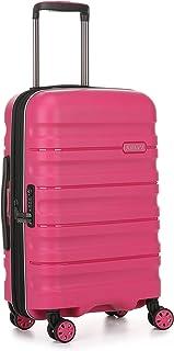 Antler 4227102019 Juno 2 4W Cabin Roller Case Carry-Ons (Hardside), Pink, 56 cm