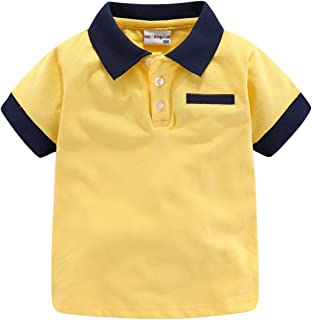 Boys Polo Shirts Plain