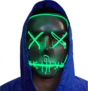 neon face mask