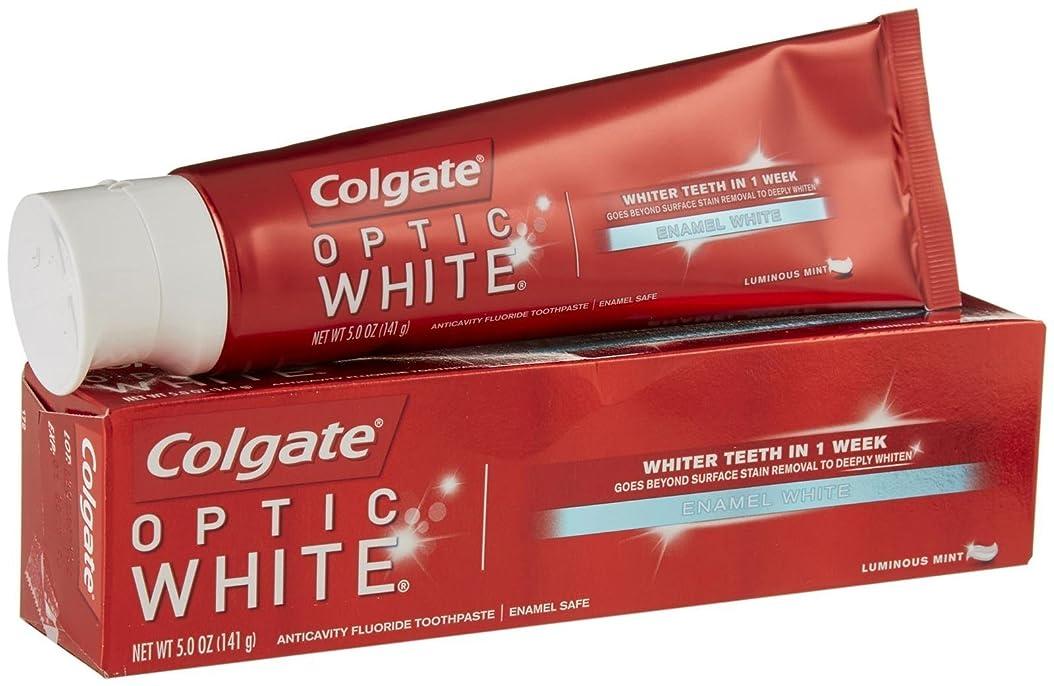 防水メンター自然Colgate オプティックホワイトハミガキ - 5オンス - ルミナスミント