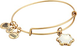 Alex and Ani - Crystal Snowflake Bangle