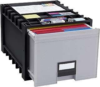 black archive boxes