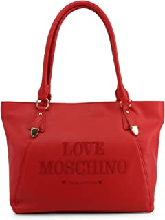 Love Moschino Borsa a due manici schopper in eopelle ROSSA A/I 2019/20