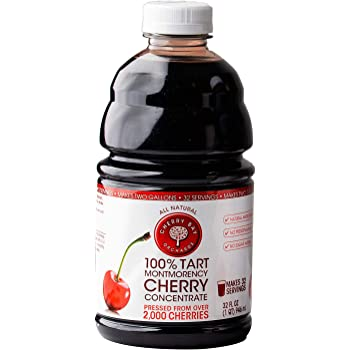 Cherry Bay Orchards Tart Cherry Concentrate - Natural Juice to Promote Healthy Sleep, 32oz Bottle