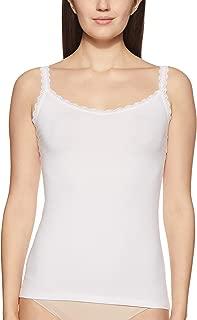 Marks & Spencer Women's Plain/ Solid Vest (4635_WHITE_6)