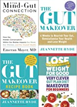 Mind gut connection [hardcover], gut makeover, recipe book and very clever gut diet 4 books collection set