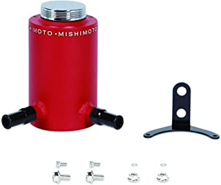 Mishimoto MMRT-PSAWRD Aluminum Power Steering Reservoir Tank,  Wrinkle Red