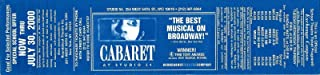 Best cabaret tickets studio 54 Reviews