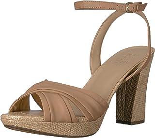 9964b84024f Brown Women's Heeled Sandals | Amazon.com
