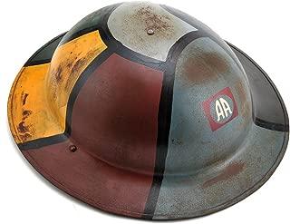 World War Supply US WW1 M1917 Brodie Helmet Doughboy Helmet 82nd Airborne Hand Aged