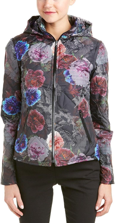 Robert Graham Women's Kenzie Woven Puffer Jacket Multi