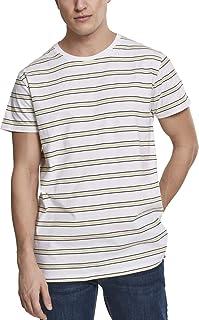 Urban Classics Men's Multicolor Stripe Tee T-Shirt