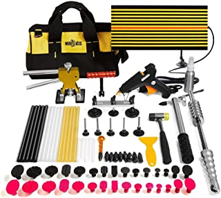 Dent Lifter Remover Tools Kit Easy to Use for Small Dent Door Ding Hail Damage Repair Door Dings Dent Repair Car Dent Repair Kit 44Pcs//Set 12V Glue Paintless Dent Repair Tools