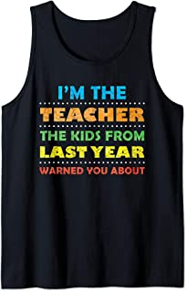 Funny Substitute Teacher Gift Shirts Back To School Meme Tank Top