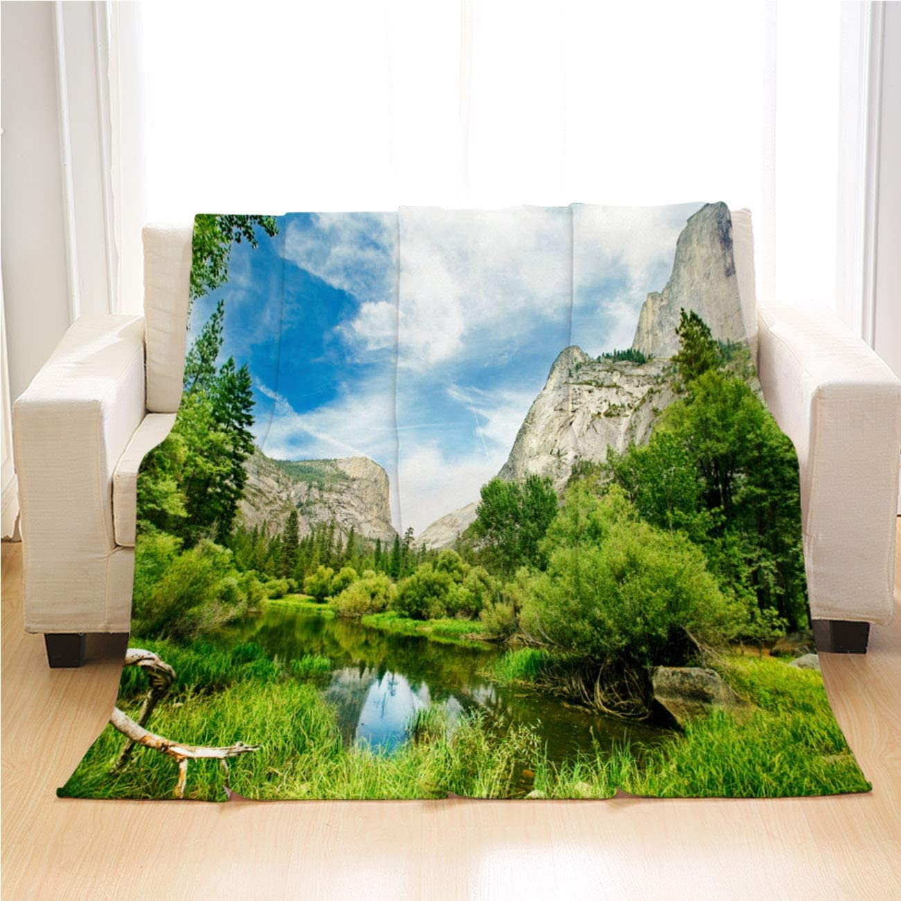 OTTOSUN Yosemite Blanket Luxury Throw ショッピング Soft Super Yosemit 激安格安割引情報満載