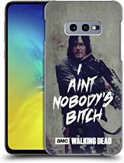 Official AMC The Walking Dead Daryl Typography Hard Back Case Compatible for Samsung Galaxy S10e