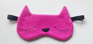 Sleep Mask, Cute Sleeping Mask Set Natural Eye Cover for Women Men Comfort Deep Eye Masks with...