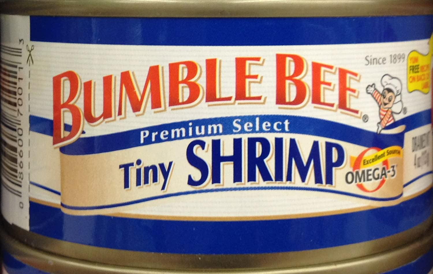 BUMBLE BEE Premium Select New Shipping Free TINY Cans Today's only 2 4oz. SHRIMP