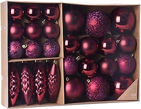 Suchergebnis Auf Amazon De Fur Christbaumkugeln Bordeaux