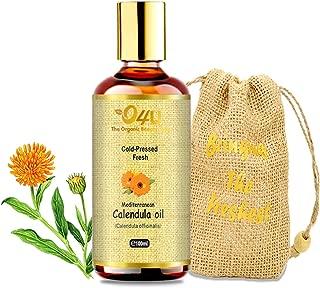 O4U Organic Cold Pressed Mediterranean Calendula oil For Skin, Face and Hair- 100 ml