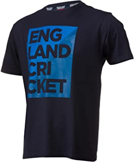 England Cricket 男式 Supporters Ecb 图案 T 恤