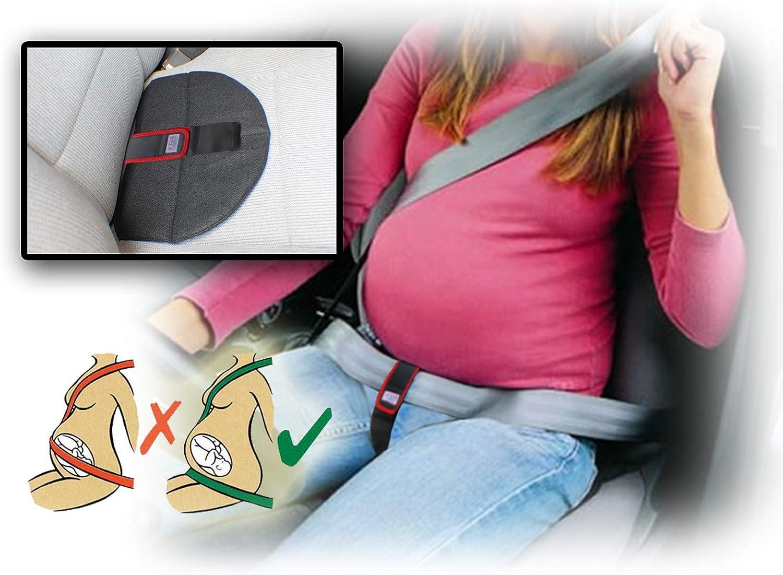 Aveanit KFZ Auto Schwangerschaftsgurt Baby Sicherheit Schutz Reise Zubeh/ör Komfort und Sicherheit f/ür schwangere M/ütter Bauch Sch/ützen Sie ungeborenes Baby