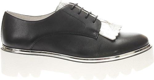 Café Noir CAFèNOIR KEA113 Chaussures à Lacets Femme noir 37