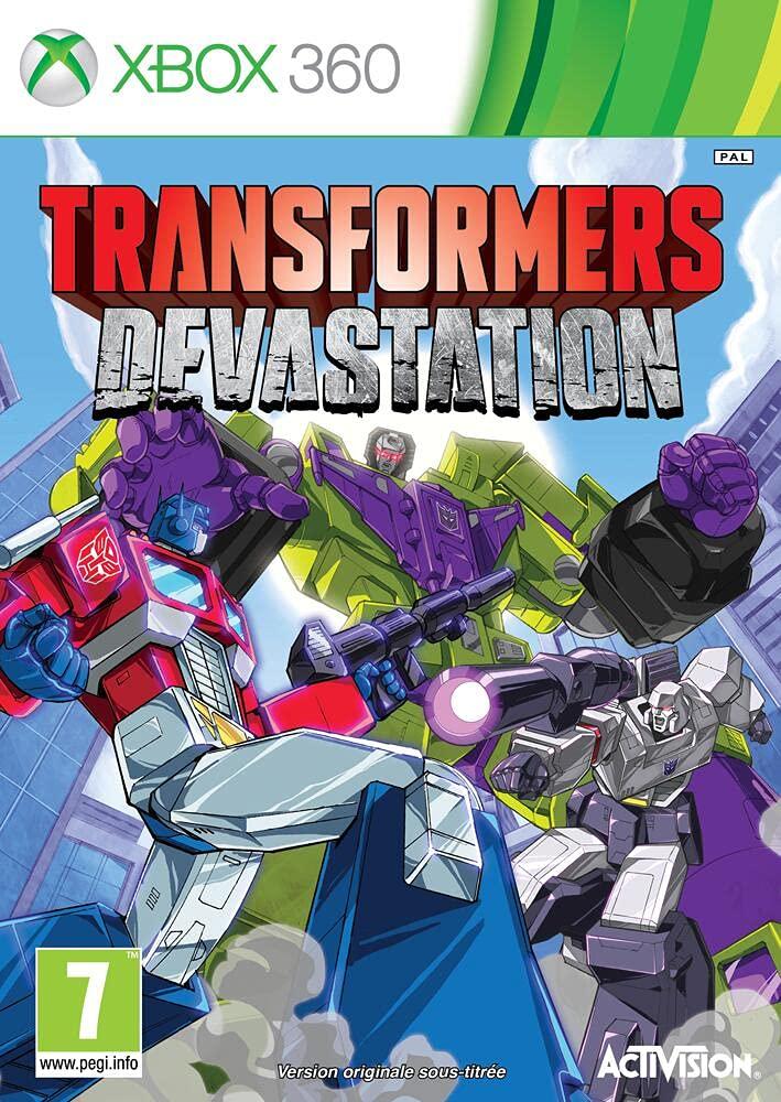 Transformers Devastation Xbox Seattle Classic Mall 360