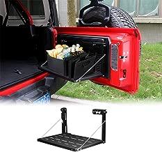cartaoo Rear Door Foldable Tailgate Table Cargo Shelf Fit for 2018-2019 Jeep Wrangler JL 2/4 Door (JL)
