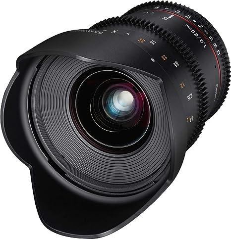 Samyang 13020t1 9cm 20mm T1 9 Vdslr Ed As Umc Objektiv Kamera