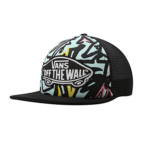 08f3a7b60b5 Vans Shoes Off The Wall Women s Beach Girl Trucker Snapack Hat Cap - Light  Blue
