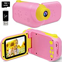 Deals on YTETCN Kids 1080P Camcorder with 32 GB SD Card