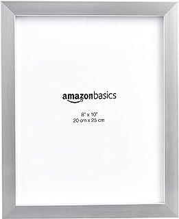Amazonベーシック フォトフレーム 20×25cm ニッケル 5点セット