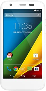Motorola Moto G (1st Generation) Unlocked Cellphone, 8GB, White