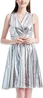 Naimo Bohemia Style Pleated Dress 3D Printing Multi-Way African Dress Bandage Irregular Dress