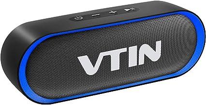 VTIN R4 Altavoz Bluetooth Portatil, 12W Altavoz Portatil
