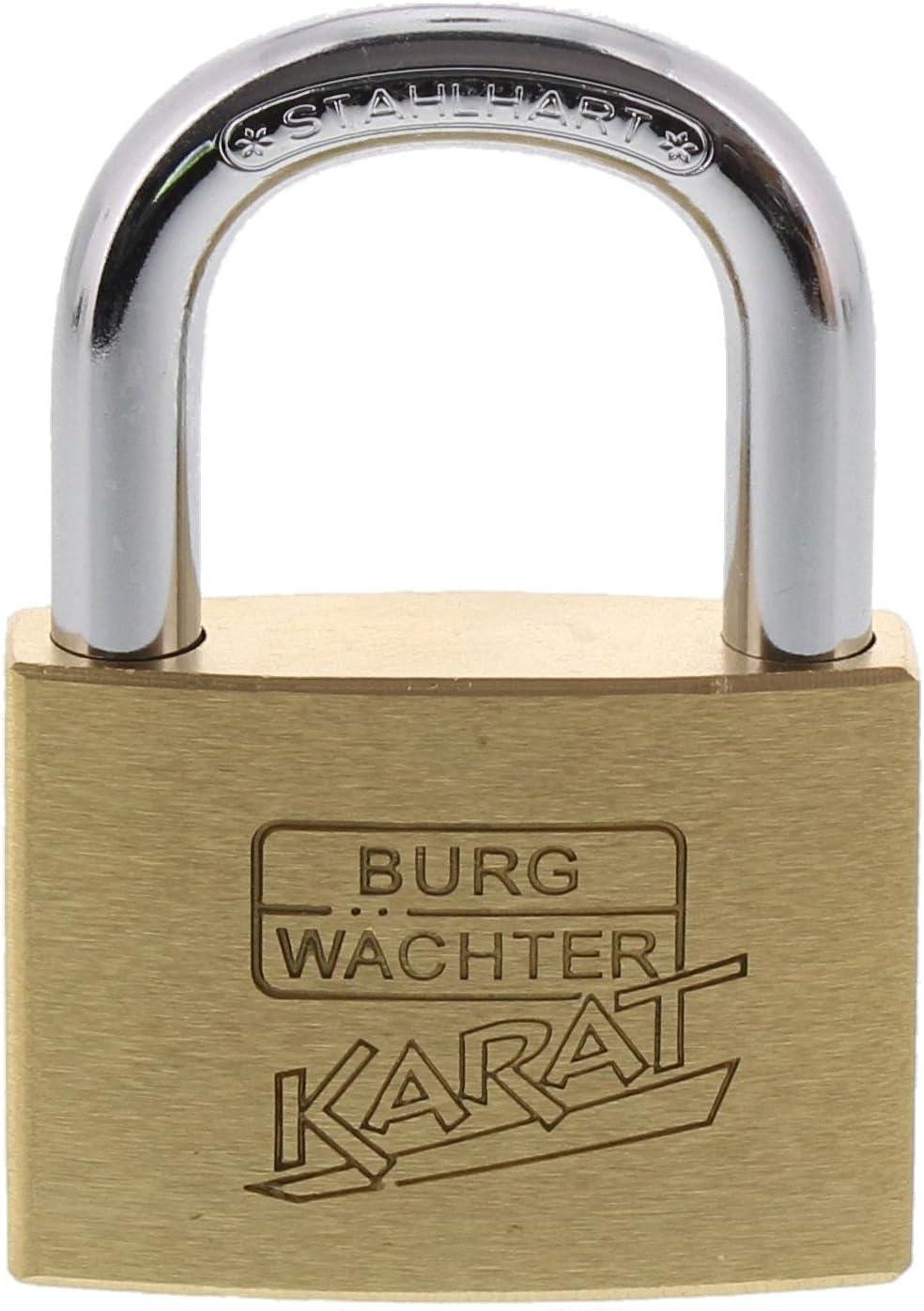 Max 82% OFF Burg-Wächter Cylinder Tucson Mall Padlock 8mm 6Keys Pincers Thickness