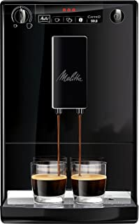 Melitta Caffeo Solo, Noir Pure Black, E950-222, Machine à Café et Expresso Automatique avec Broyeur à Grains