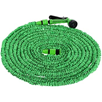 15-60M Flexibler Gartenschlauch Flexischlauch Schlauch Wasserschlauch Brause A++